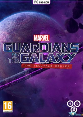 Marvel's Guardians of the Galaxy: The Telltale Series постер (cover)