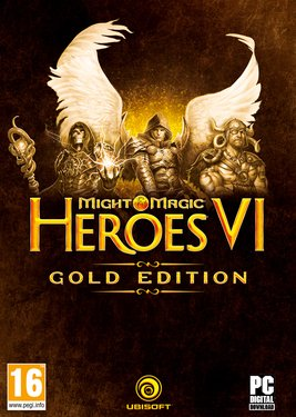 Might and Magic Heroes VI: Gold постер (cover)
