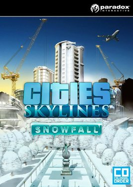Cities: Skylines - Snowfall постер (cover)