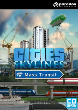 Cities: Skylines - Mass Transit постер (cover)