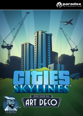 Cities: Skylines - Content Creator Pack: Art Deco постер (cover)