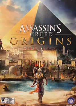 Assassin's Creed: Origins постер (cover)