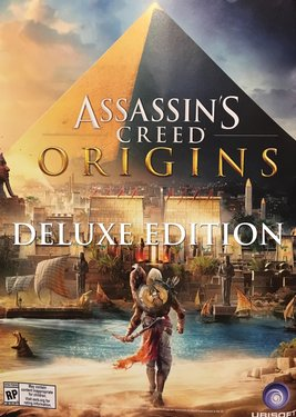 Assassin's Creed: Origins - Deluxe Edition постер (cover)