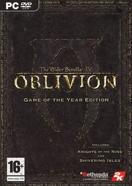 The Elder Scrolls IV: Oblivion - Game of the Year Edition постер (cover)