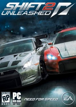 Need For Speed: Shift 2 Unleashed постер (cover)