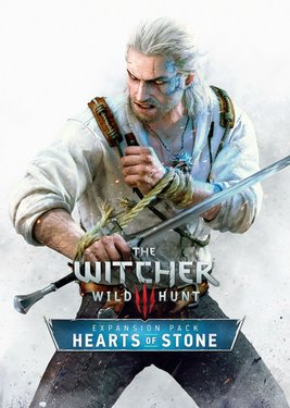 The Witcher 3: Wild Hunt - Hearts of Stone постер (cover)