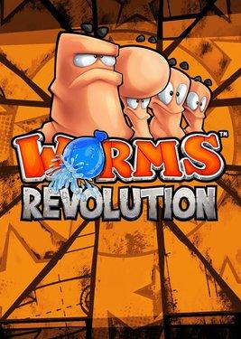 Worms Revolution постер (cover)
