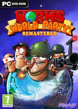 Worms World Party Remastered постер (cover)