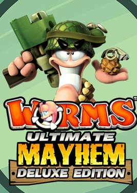 Worms Ultimate Mayhem – Deluxe Edition постер (cover)