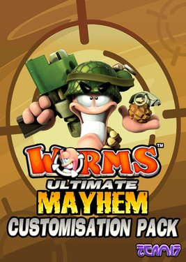 Worms Ultimate Mayhem – Customization Pack постер (cover)