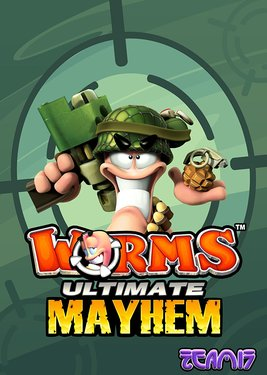Worms Ultimate Mayhem постер (cover)