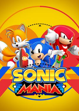 Sonic Mania постер (cover)