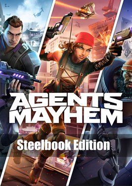 Agents of Mayhem – Steelbook Edition постер (cover)
