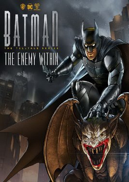 Batman: The Enemy Within – The Telltale Series постер (cover)