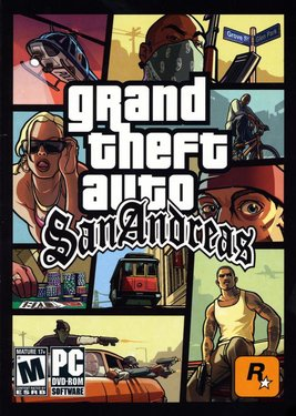 Grand Theft Auto: San Andreas постер (cover)