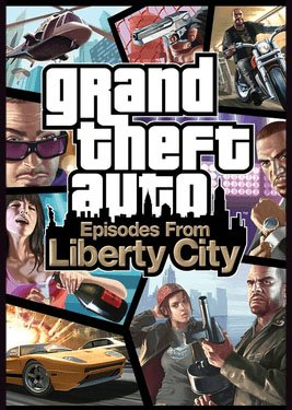 Grand Theft Auto: Episodes from Liberty City постер (cover)