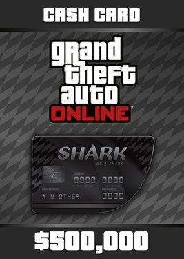 Grand Theft Auto Online: Bull Shark Cash Card постер (cover)