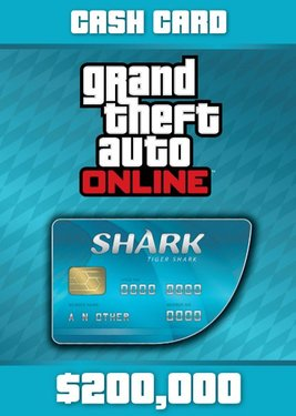 Grand Theft Auto Online: Tiger Shark Cash Card постер (cover)