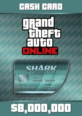 Grand Theft Auto Online: Megalodon Shark Cash Card постер (cover)