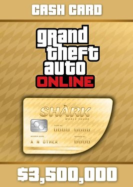 Grand Theft Auto Online: Whale Shark Cash Card постер (cover)