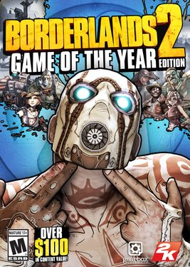 Borderlands 2 - Game of the Year Edition постер (cover)