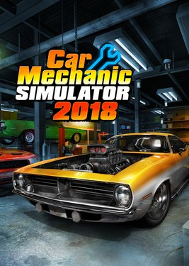 Car Mechanic Simulator 2018 постер (cover)