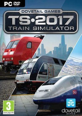 Train Simulator 2017 постер (cover)