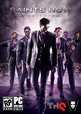 Saints Row: The Third постер (cover)