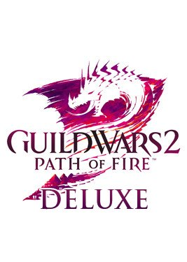 Guild Wars 2: Path of Fire Deluxe постер (cover)