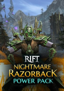 RIFT - Nightmare Razorback Power Pack постер (cover)