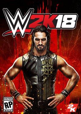 WWE 2K18 постер (cover)