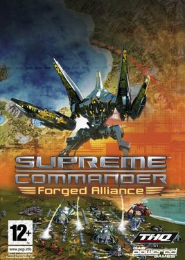 Supreme Commander: Forged Alliance постер (cover)