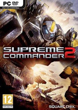Supreme Commander 2 постер (cover)