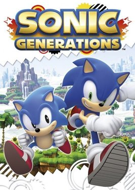 Sonic Generations Collection постер (cover)