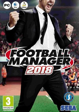 Football Manager 2018 постер (cover)