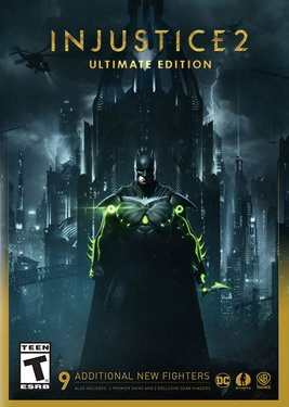 Injustice 2 - Ultimate Edition постер (cover)