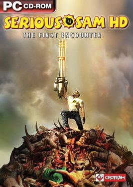 Serious Sam HD: The First Encounter постер (cover)
