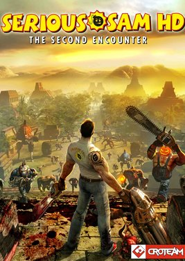 Serious Sam HD: The Second Encounter постер (cover)
