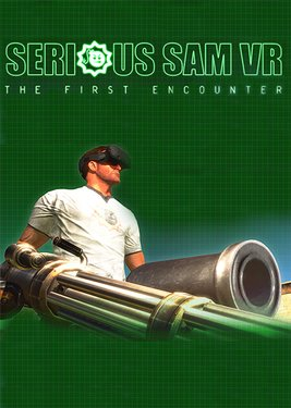 Serious Sam VR: The First Encounter постер (cover)