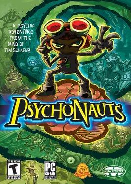 Psychonauts постер (cover)