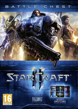 StarCraft II: Battle Chest постер (cover)