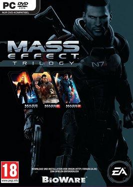 Mass Effect Trilogy постер (cover)