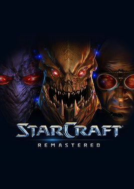 StarCraft Remastered постер (cover)