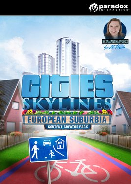 Cities: Skylines - Content Creator Pack: European Suburbia постер (cover)