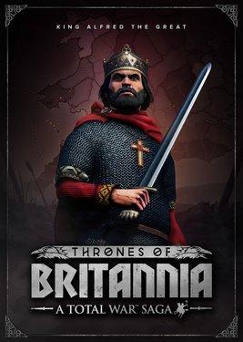 Total War Saga: Thrones of Britannia постер (cover)