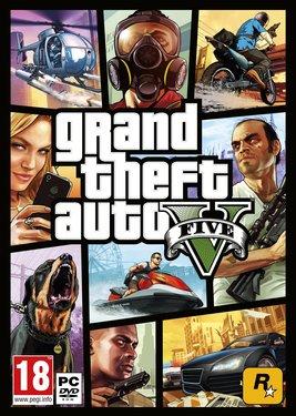 Grand Theft Auto V постер (cover)