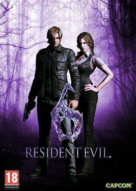 Resident Evil 6 постер (cover)