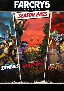 Far Cry 5 - Season Pass постер (cover)