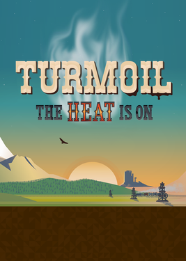 Turmoil – The Heat Is On постер (cover)