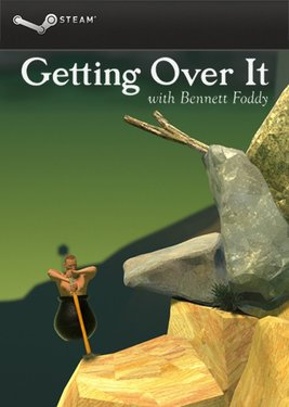 Getting Over It with Bennett Foddy постер (cover)